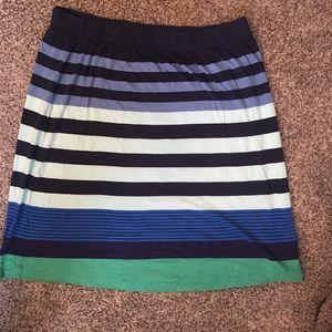 *Loft*Jersey Knit Pull On Skirt size Medium